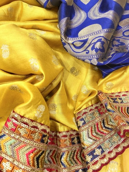 Pure Benarasi Kataan Silk Suits